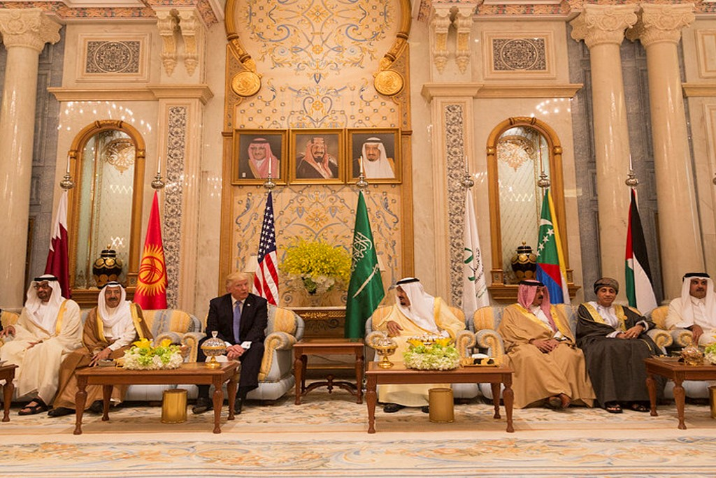 President Trump at meeting of GCC