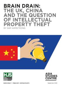 Brain Drain: The UK, China, and the Question of Intellectual Property Theft