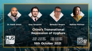 chinese repression of uyghurs